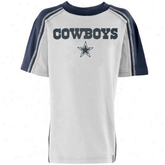 Dallas Cowboys Attire: Reebok Dallas Cowboys Young men Grey Upgrade T-shirt