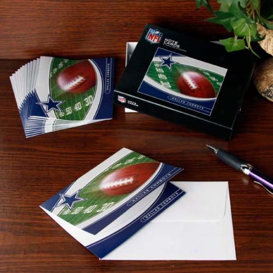 Dallas Cowboys Boxed Note Cards