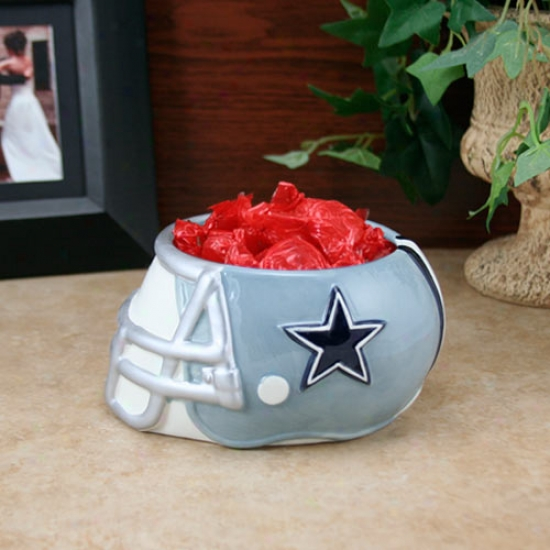 Dallas Cowboys Ceramic Helm Bowl