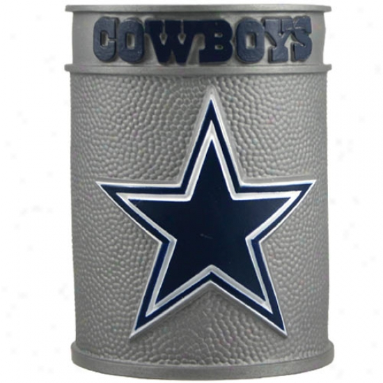 Dallas Cowboys Embossed Plastic Can Coozie