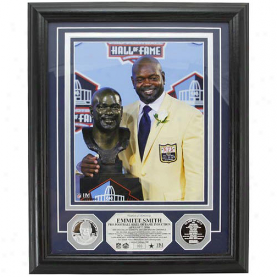 Dallas Cowboys Emmitt Smith 2010 Hall Of Fame Photomont
