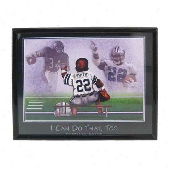 """dallas Cowboys Emmitt Smith """"i Can Do That, Too"""" Picture"""