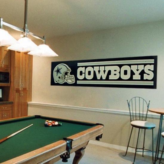 Dallas Cowboys Flag : Dallas Cowboys Navy Blus 8' X 2' Flag