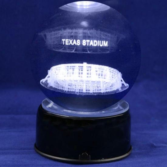 Dallas CowboysF ootball Stadium 3d Laser Globe