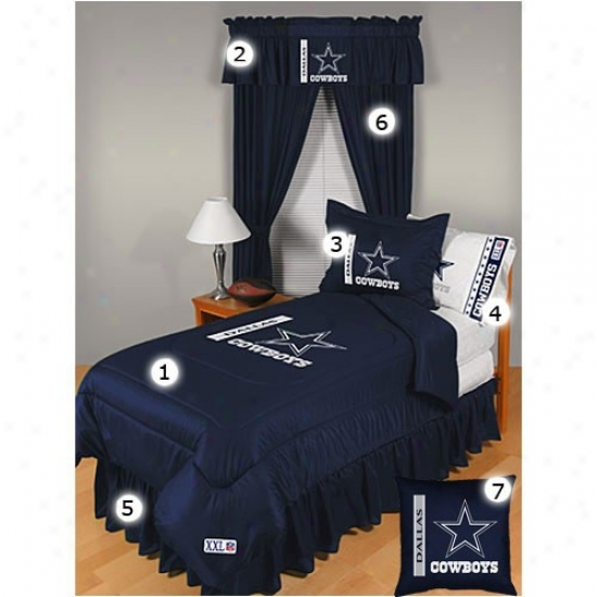 Dallas Cowbiys Full Size Locker Room Bedroom Set