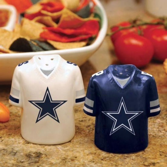 Dallas Cowboys Gameday Ceramic Salt & Pepper Shakers