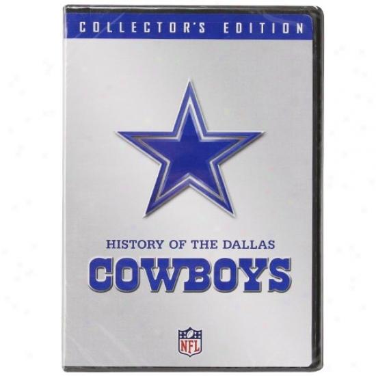 Dallas Cowboys History Of The Dallas Cowboys Collector's Edition Dvd