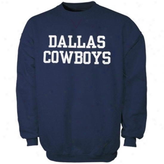 Dallas Cowboys Hoodies : Reebok Dallas Cowboys Navy Blue Coaches Hoodies