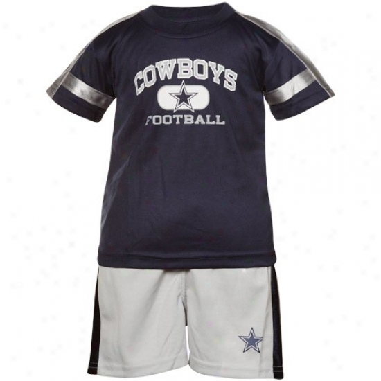 Dallas Cowboys Infant Shirt & Shorts Set