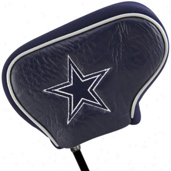 Dallaw Cowboys Ships of war Bkue Blade Putter Cover