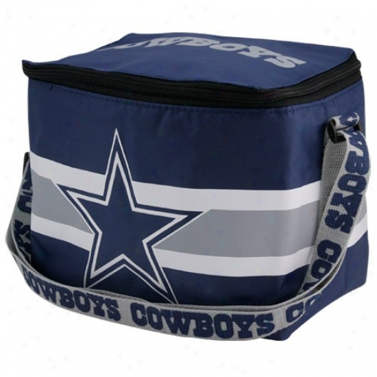 Dallas Cowboys Navy Blue Insulated Lunch Bag