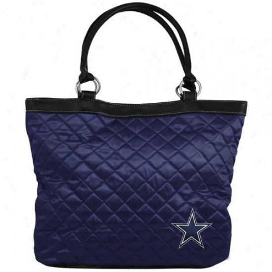 Dallas Cowboys Navy Blue Quilted Carry Bag