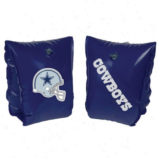 Dallas Cowboys Navy Blue Water Wings