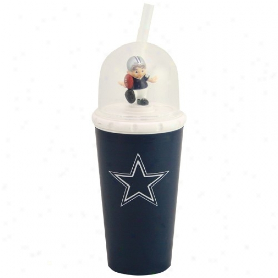 Dallas Cowboys Nav yBlue Wind-up Mascot Cup