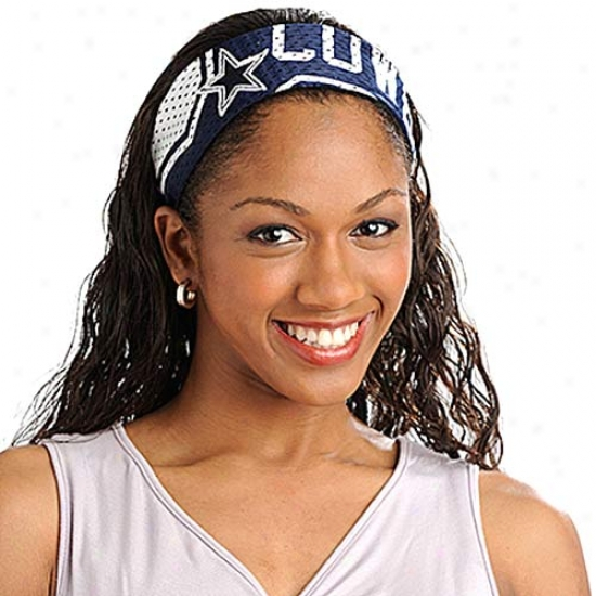 Dallas Cowboys Nfl Fanband Jersey Headband
