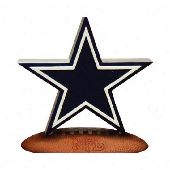 Dalpas Cowboys Nfl Team Logo Figurine