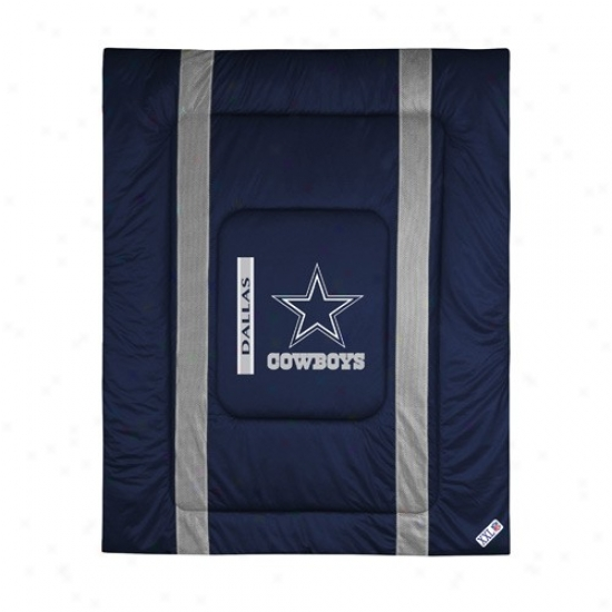 Dallas Cowboys Queen/full Size Sideline Comforter