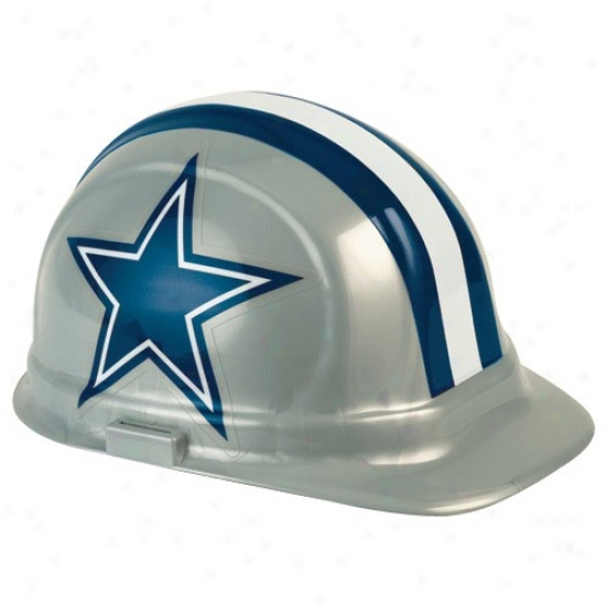 Dallas Cowboys Silvver With difficult Hat