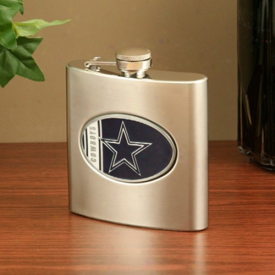 Dallas Cowboys Stainless Steel Flask