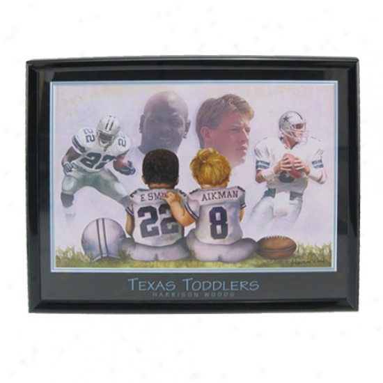 """dallas Cowboys """"texas Toddlers"""" Picture"""