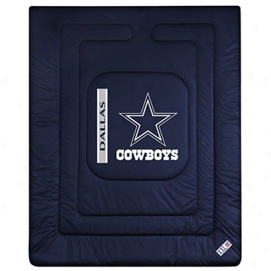 Dallas Cowboys Twin Size Locker Room Comforter