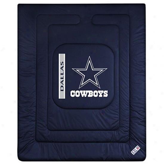 Dallas Cowboys Twin Size Locker Room Comforter