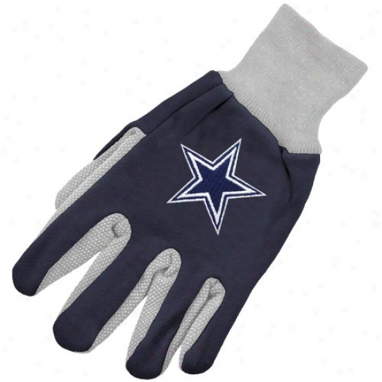Dallas Cowboys Two-tone Urility Gloves