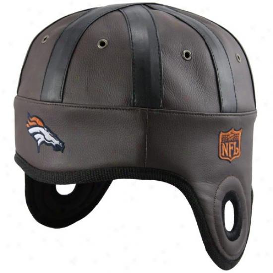 Denver Bronco Gear: Denver Bronco Brown Helmet Head