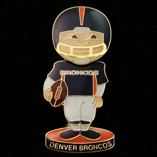 Denver Bronco Hats : Denger Bronco Bobble Head Football Performer Pin