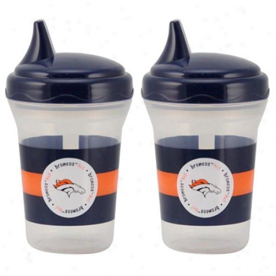 Denver Broncos 2-pack Sppy Cups