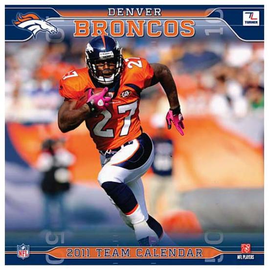 Denver Broncos 2011 Wall Calendar