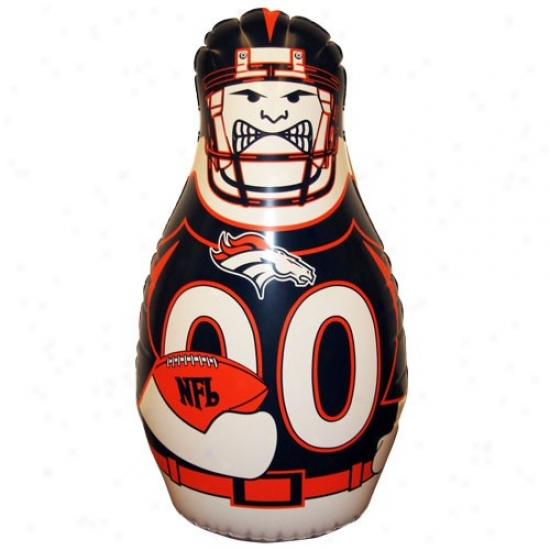 Denver Broncos 40'' Inflatable Tackle Buddy Punching Bag