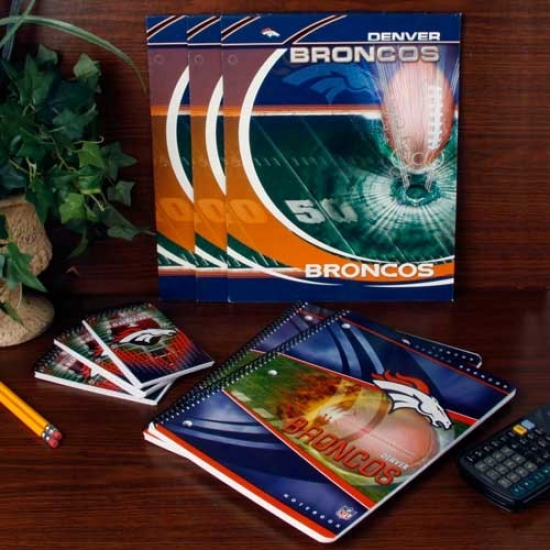 Denver Broncos Combo School Pack