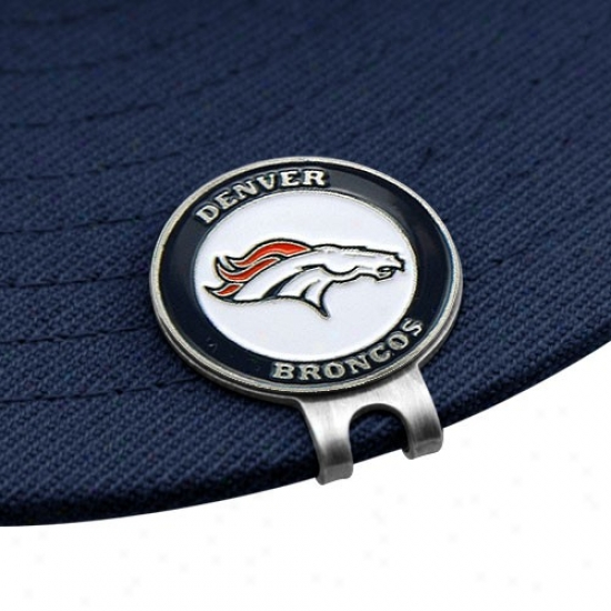 Denver Broncos Golfer's Hat Quantity sheared  & Ball Markers