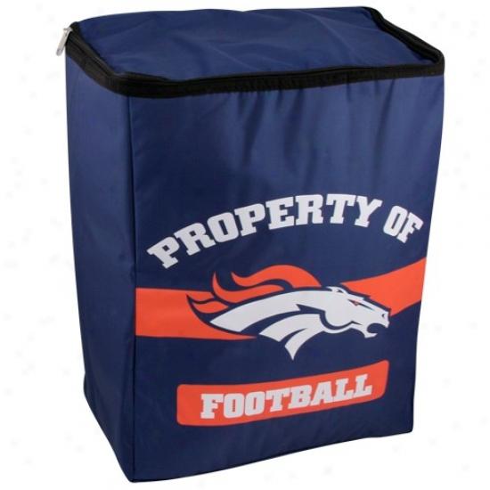 Denver Broncos Insulated Cooler Backpack