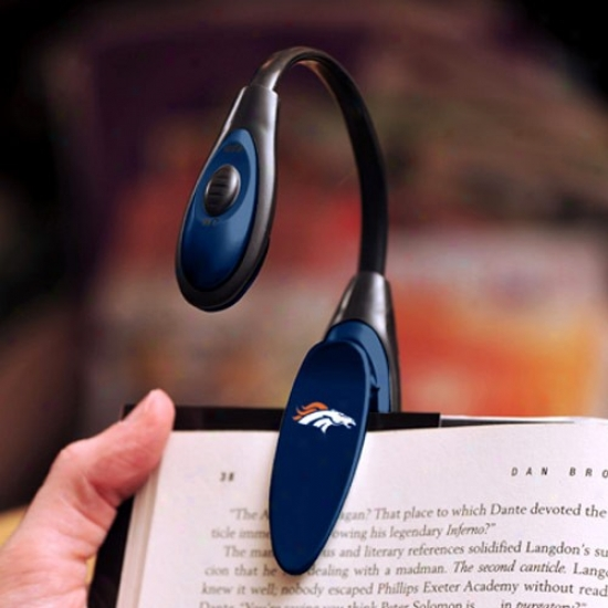 Denver Broncos Led Book Light