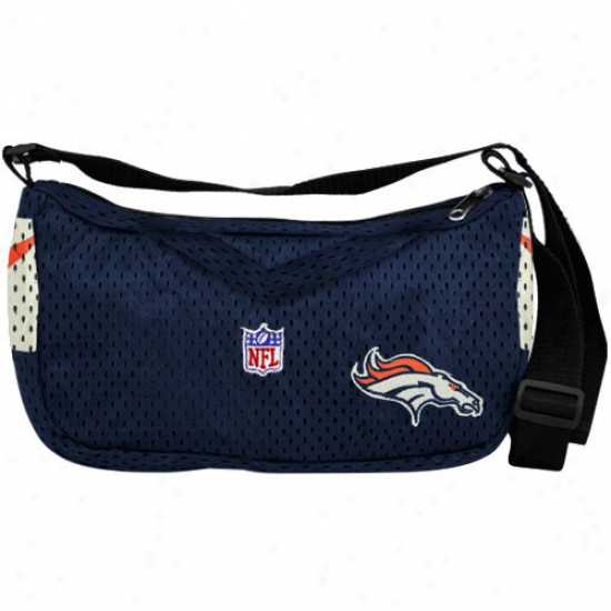 Denver BroncosN avy Blue Jersey Purse