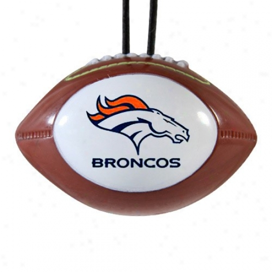 Denver Broncos Nfl Football Air Freshener