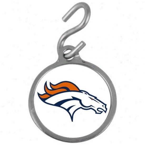 Denver Broncos Pet Id Tag