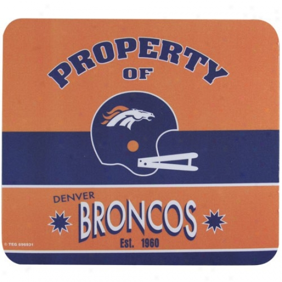 Denver Broncos Retro Mousepad