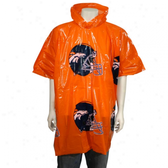 Denver Broncos Short Sleeve Pobcho