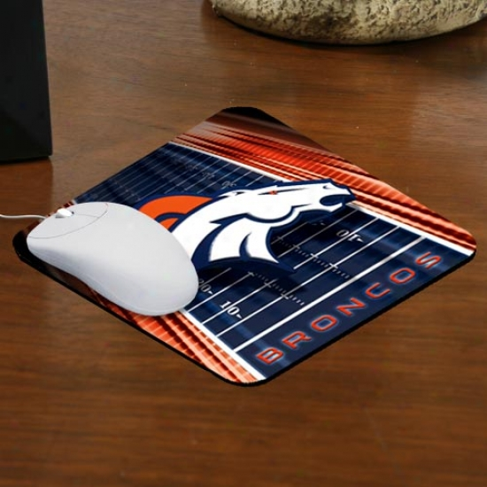 Denver Broncos Team Logo Mouswpad
