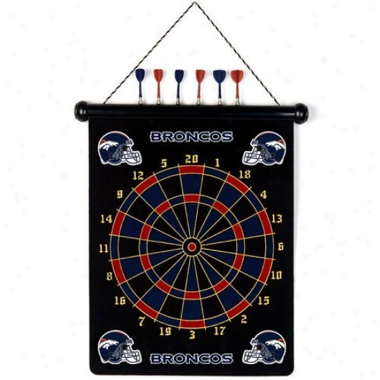 Denver Broncos Team Magnetic Darts Set
