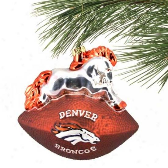 Denver Broncos Team Spirit Ornament