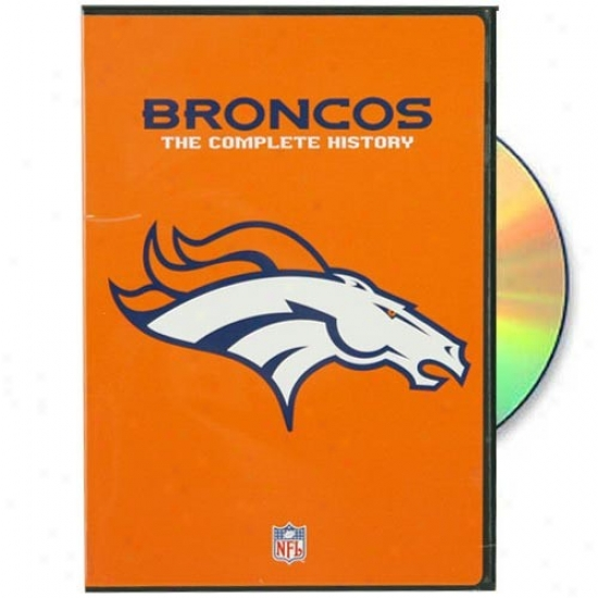 Denver Broncos The Complete Histpry Dvd