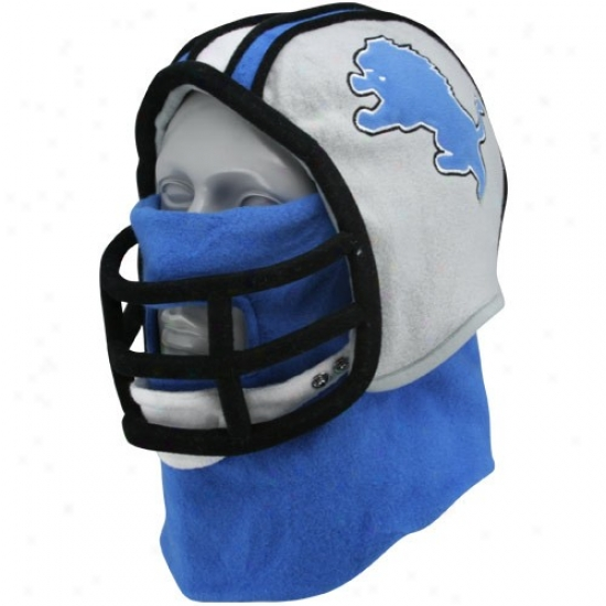 Detroit Lion Merchandise: Detroit Object of interest Fan Helmet Hat