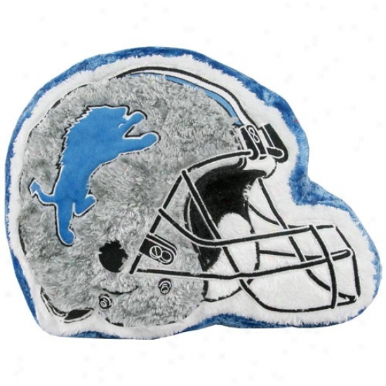 Detroit Lions 14'' Team Helmet Plush Pillow