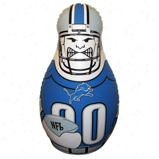 Detroit Lions 40'' Innflatable Tackle Buddy Punching Bag