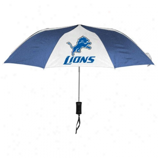 Detroit Lions 42' ' Folding Umbrella