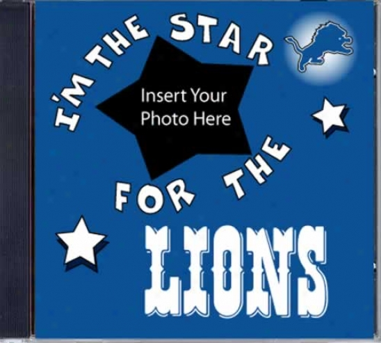 Detroit Lionq Game Hero Custom Sports Cd